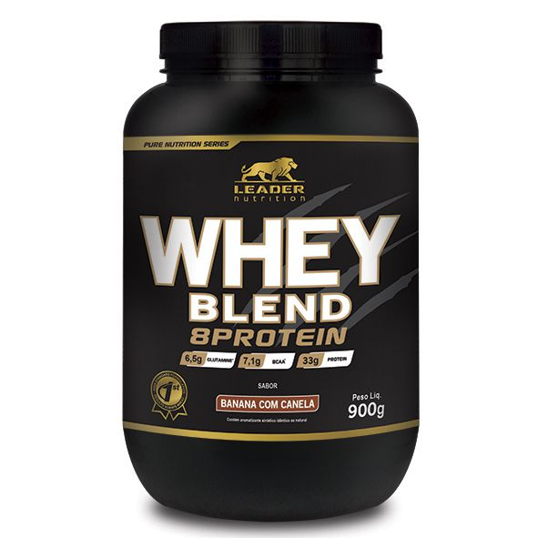 Whey Blend 8 Protein Leader Nutrition - 900g
