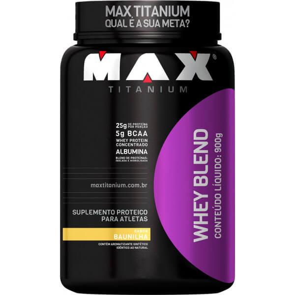 Whey Blend Max Titanium - 900g