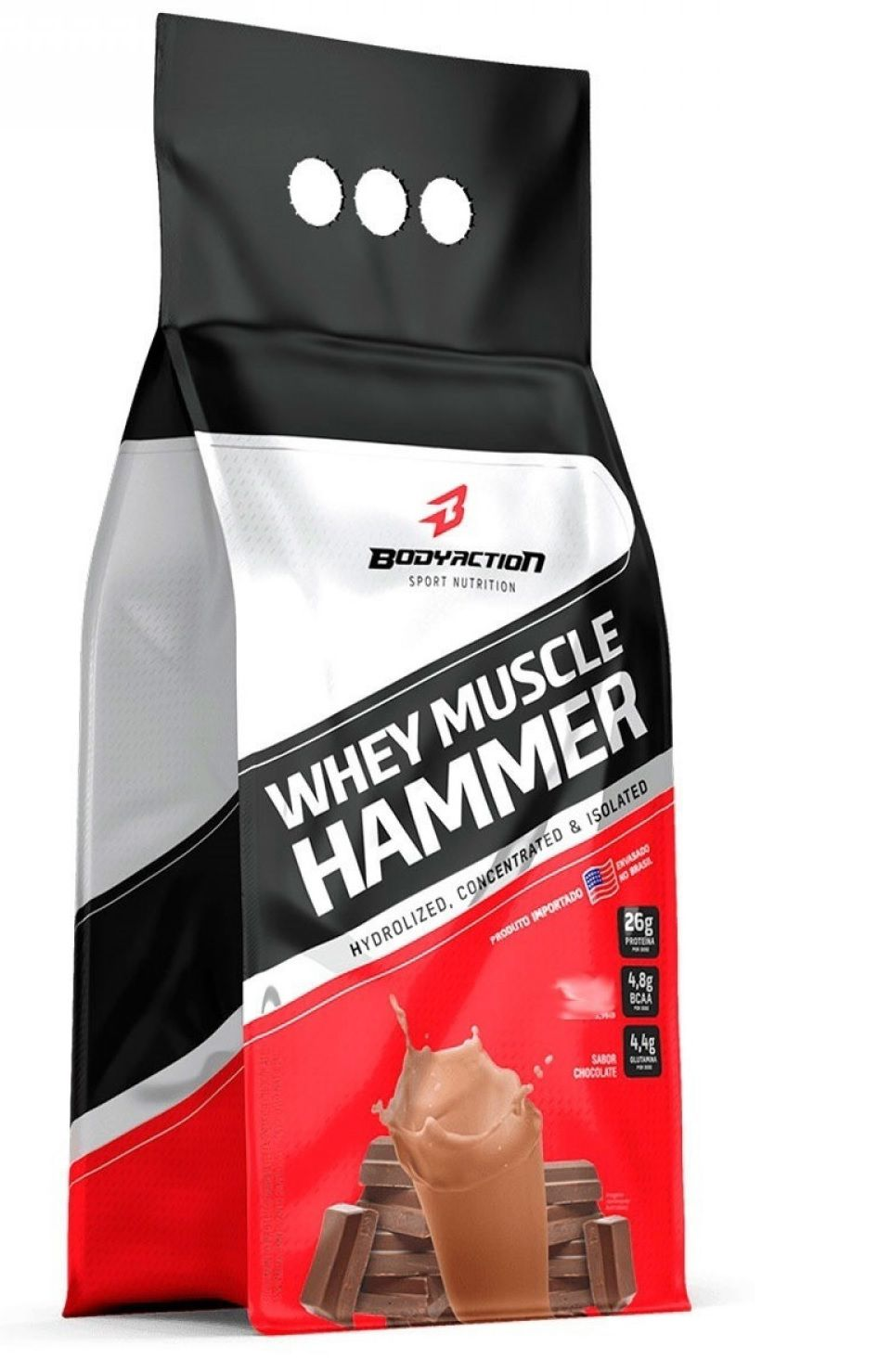 Whey Muscle Hammer Body Action - 1.8kg