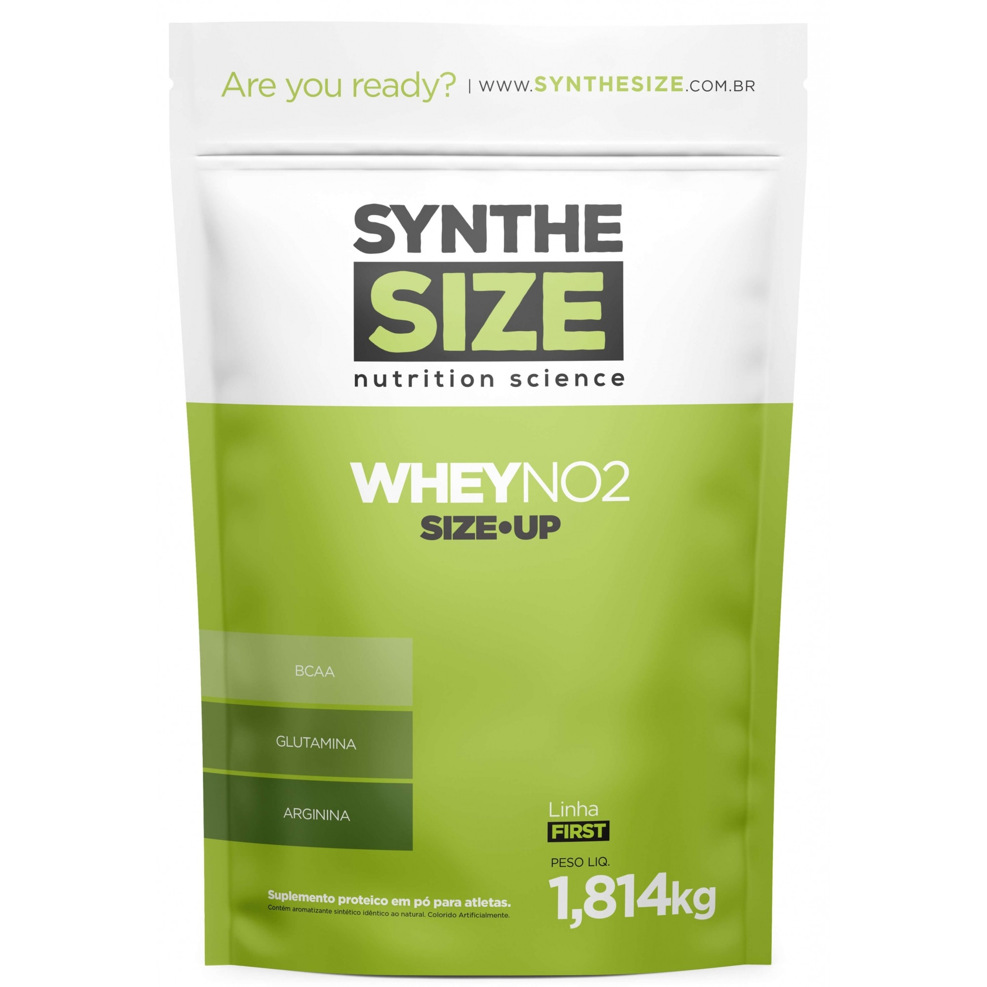 Whey NO2 Protein Refil SyntheSize - 1.8kg