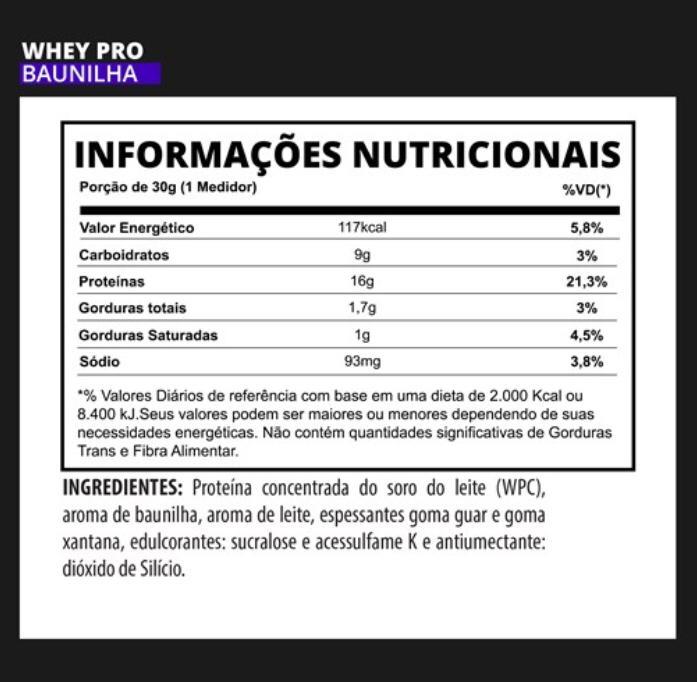 Whey PRO 3VS Nutrition - 900g