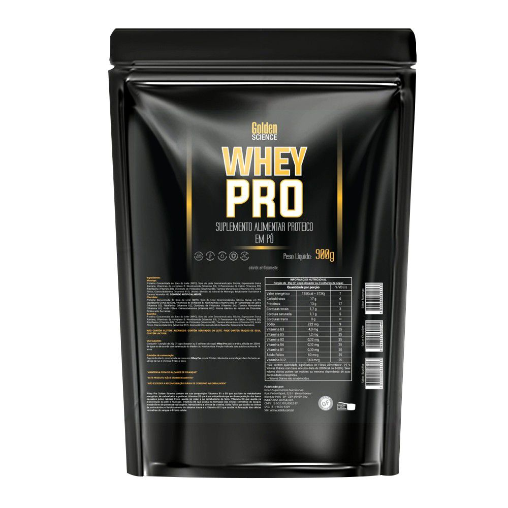 Whey PRO Golden Science - 900g