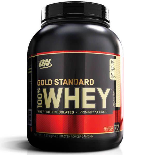 Whey Protein 100% Gold Standard Optimum Nutrition - 2.3kg