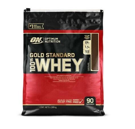 Whey Protein 100% Gold Standard Optimum Nutrition - 2.88kg