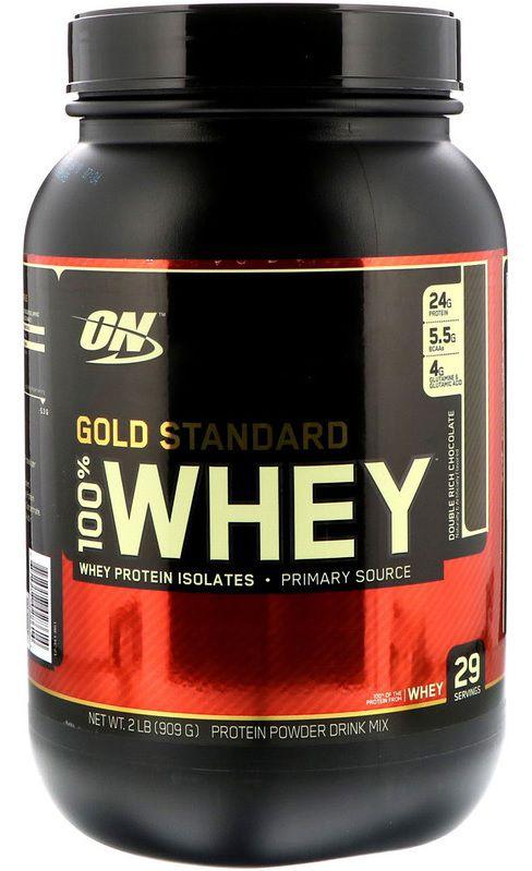 Whey Protein 100% Gold Standard Optimum Nutrition - 900g Venc. 07/2020