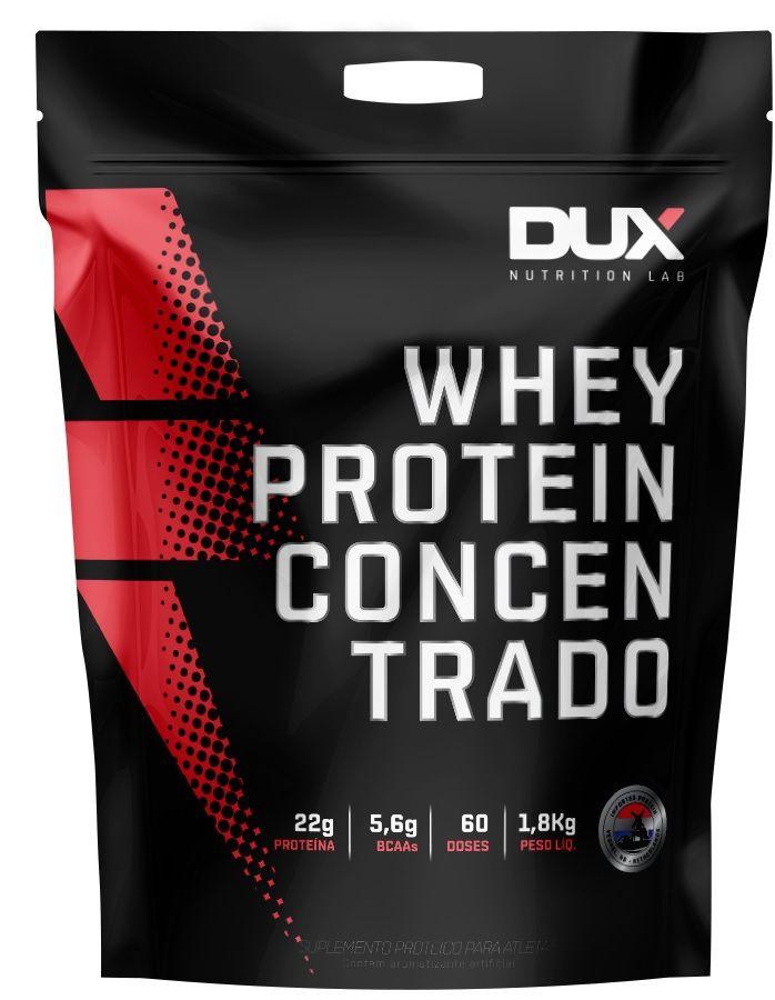 Whey Protein Concentrado DUX Nutrition - 1.8kg
