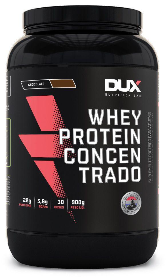 Whey Protein Concentrado DUX Nutrition - 900g