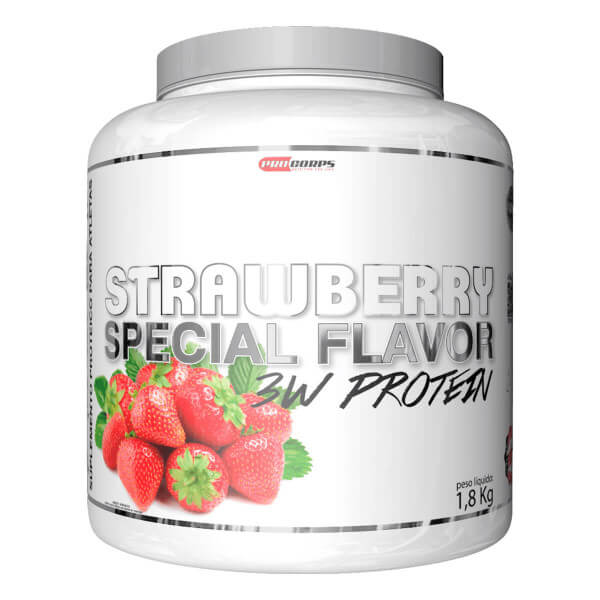 Whey Special Flavor 3W Protein Pro Corps - 1.8kg
