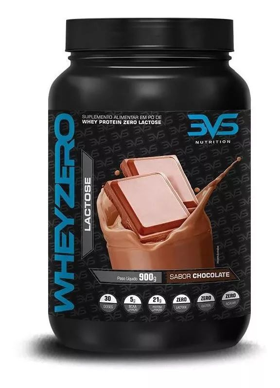 Whey Zero Lactose 3VS Nutrition - 900g