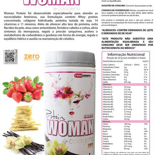 Woman Protein Pro Corps - 900g