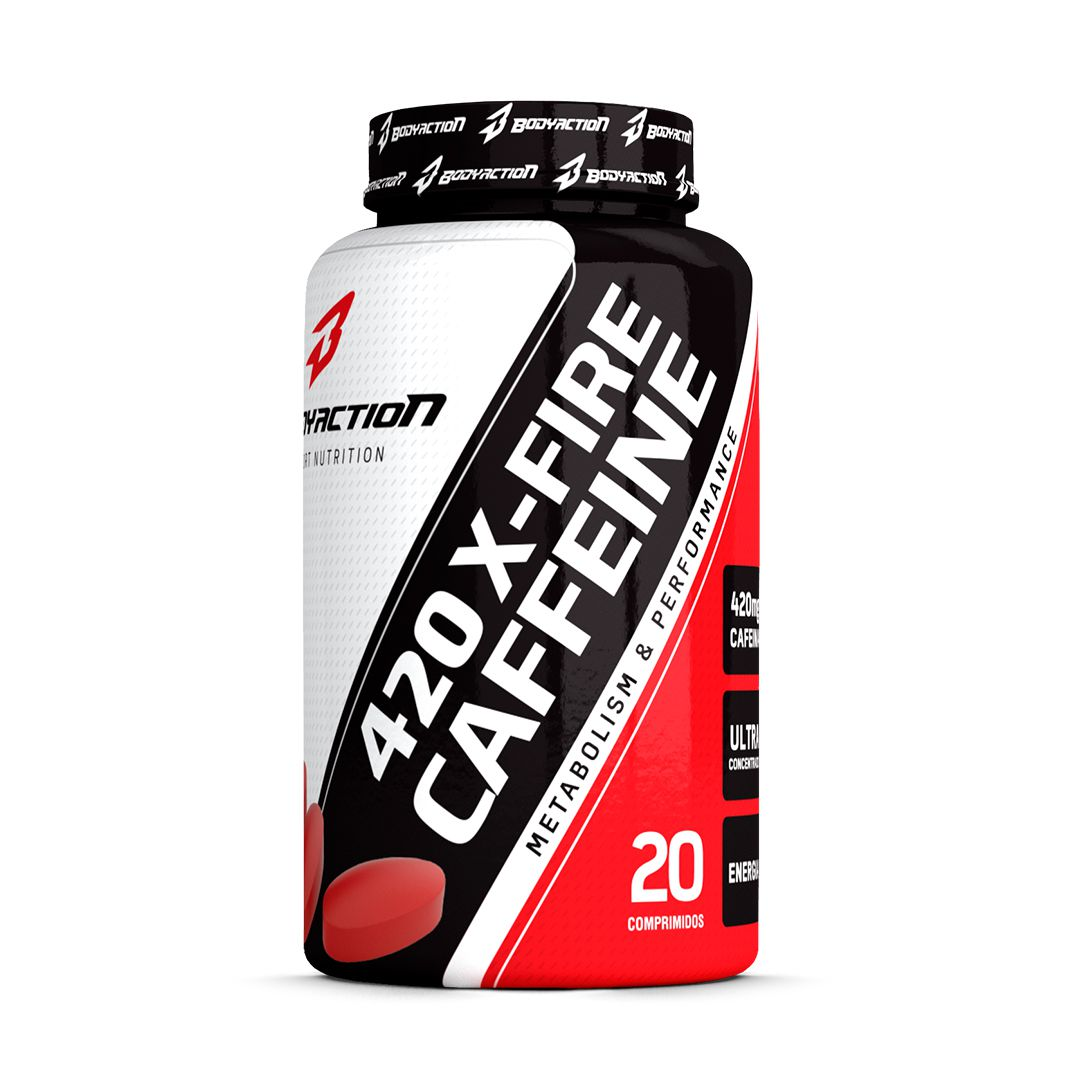 X-Fire Caffeine Body Action - 20 caps