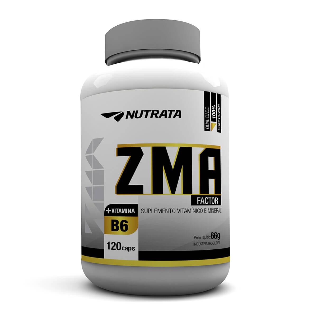 ZMA Factor Nutrata - 120 caps