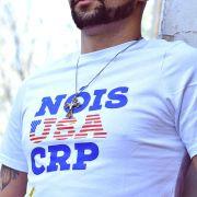 Camiseta CRP Nóis USA - Branca