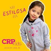 Moletom Infantil CRP Vintage - Rosa