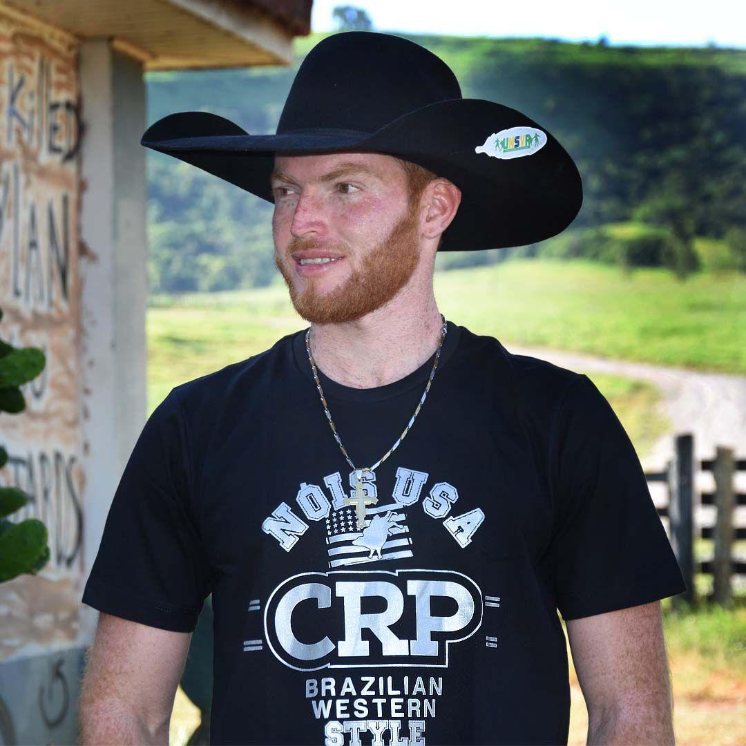 Camiseta CRP Nóis Usa preto 2020