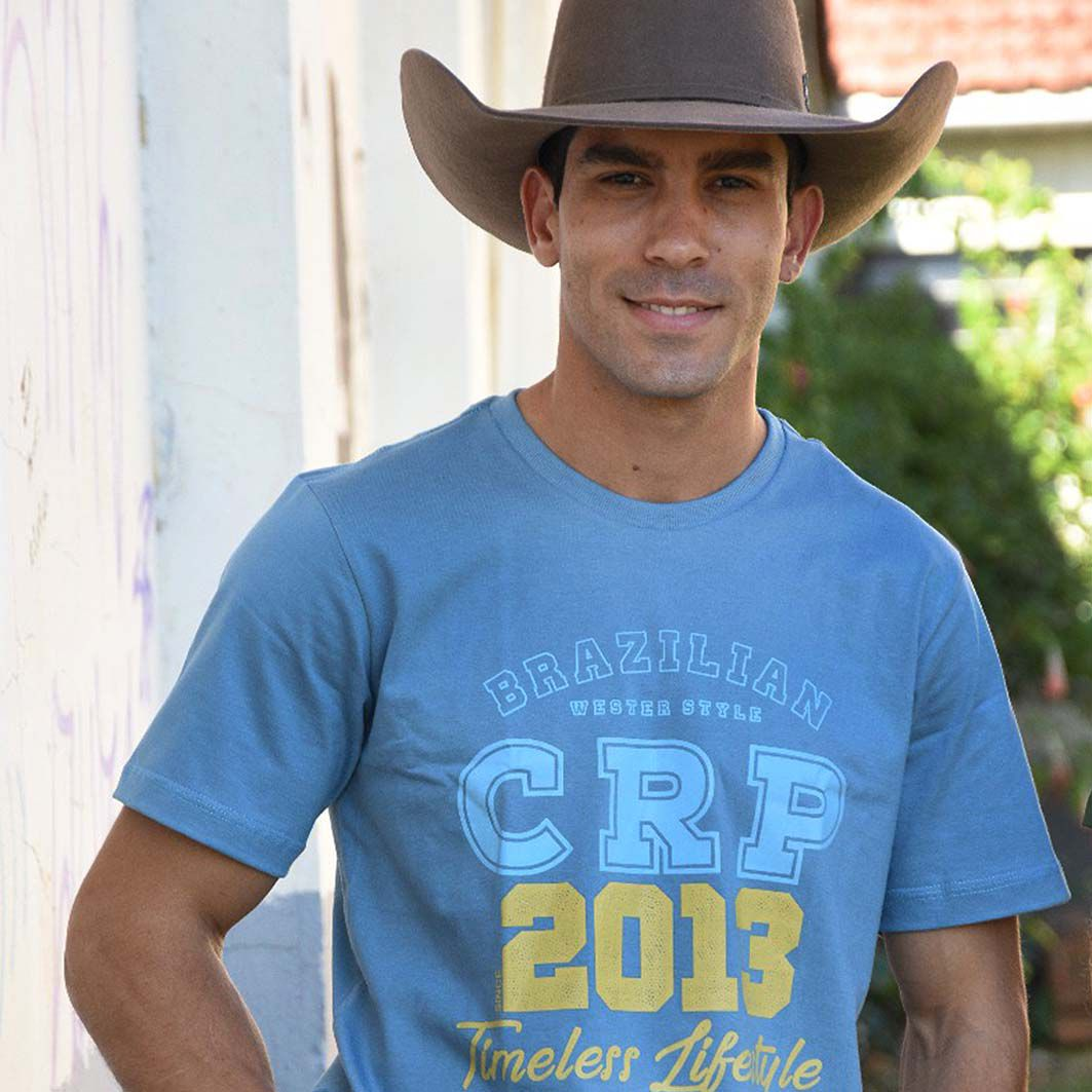 Camiseta CRP- Since 2013 Azul Claro