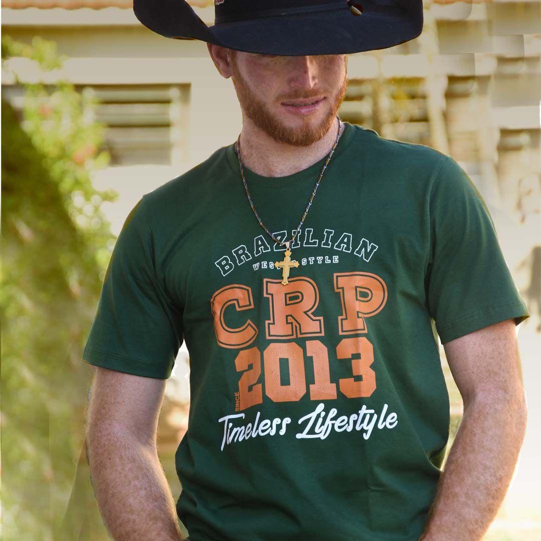 Camiseta CRP- Since 2013 verde musgo