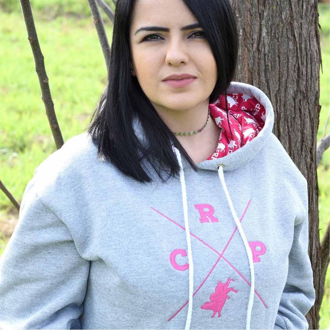 Moletom CRP Logo Vintage - Rosa