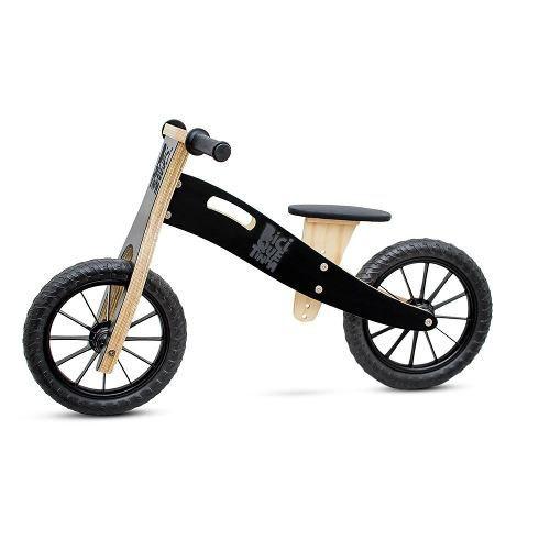 Bicicleta de equilíbrio Lousa + Capacete Preto + Cestinha