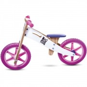Bicicleta de Equilíbrio sem Pedal NEVE ROSA
