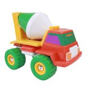 Caminhão Betoneira Turbo-S Laranja