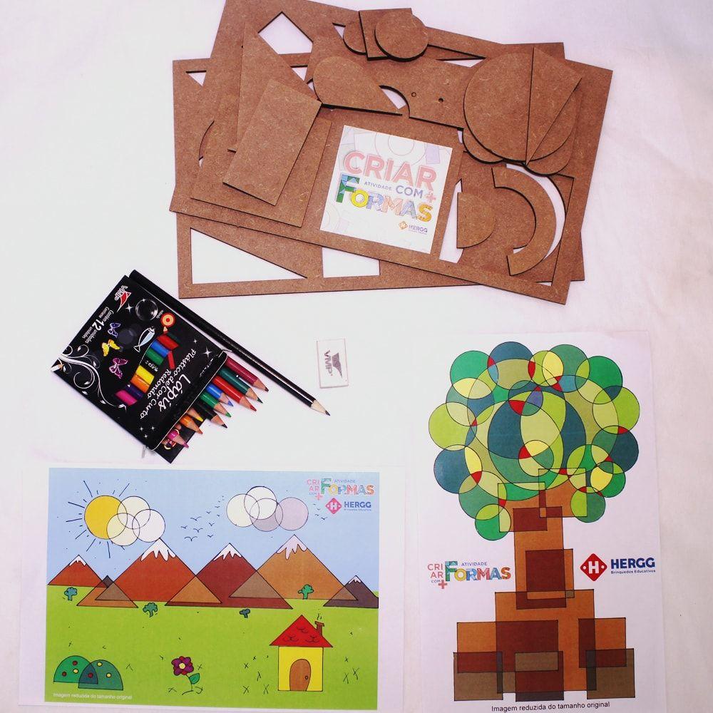 Atividade Criar Desenhos com Formas