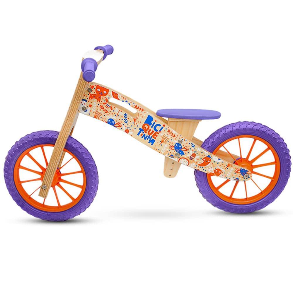 Bicicleta de Equilíbrio sem Pedal ANIMAIS