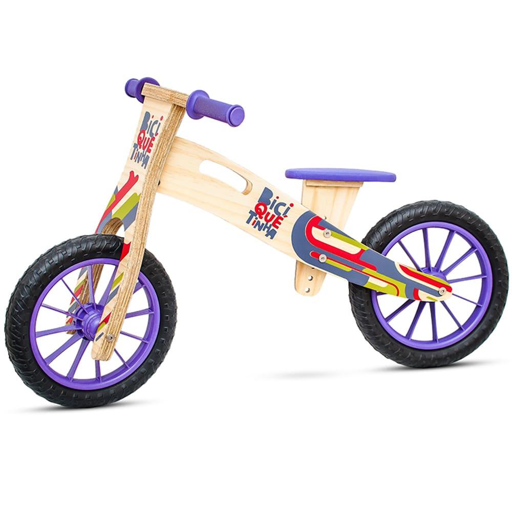 Bicicleta de Equilíbrio sem Pedal COLORIDINHA