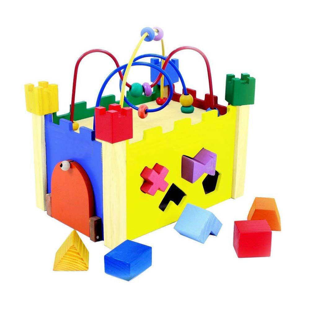 Brinquedo Aramado Montanha Russa Castelinho de Formas Bem Infantil