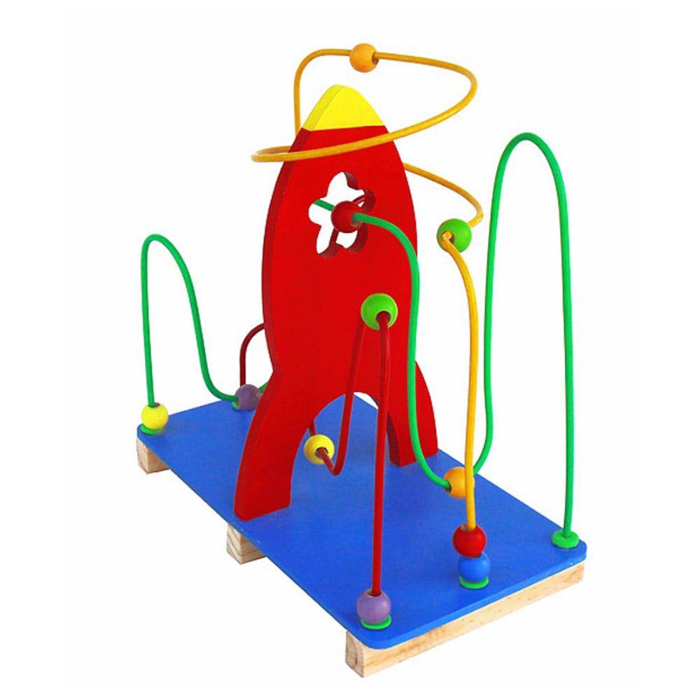 Brinquedo Aramado Montanha Russa Foguete Bem Infantil