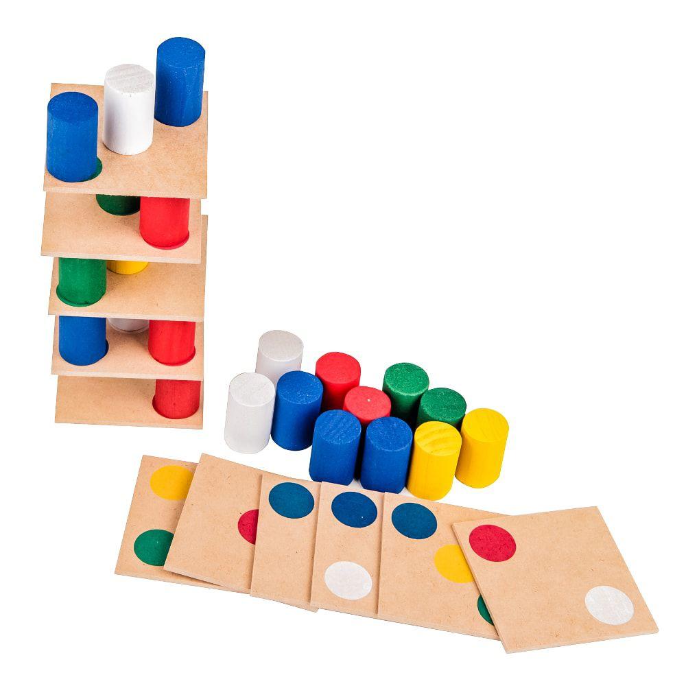 Brinquedo Educativo Torre Inteligente Carlu