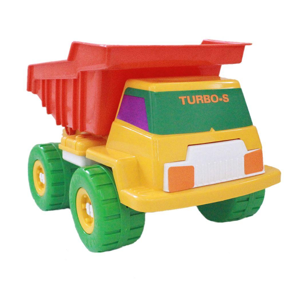 Caminhão Basculante Turbo-S com pá