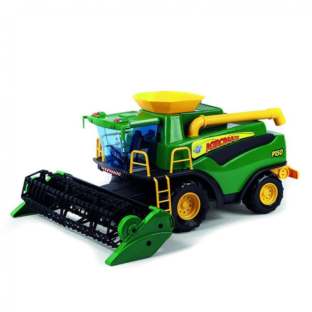 Colheitadeira Infantil Fazendeiro Verde