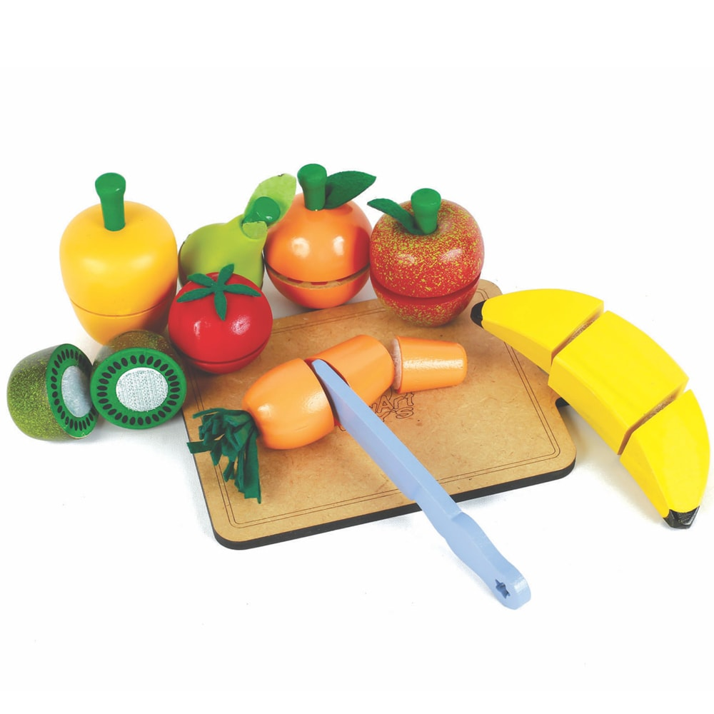 Frutinhas com Velcro para Corte (Kit)