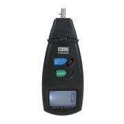 Tacômetro Digital Portátil Faixa Contato 0,5 A 19999 e Optico 1,5 A 99999 RPM - FOR-6236