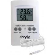 Termo-Higrômetro com Sonda Externa Simpla - TH02