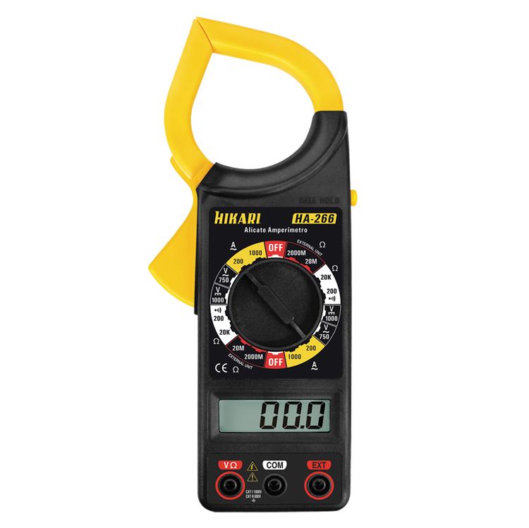 Alicate Amperímetro Digital - HA-266