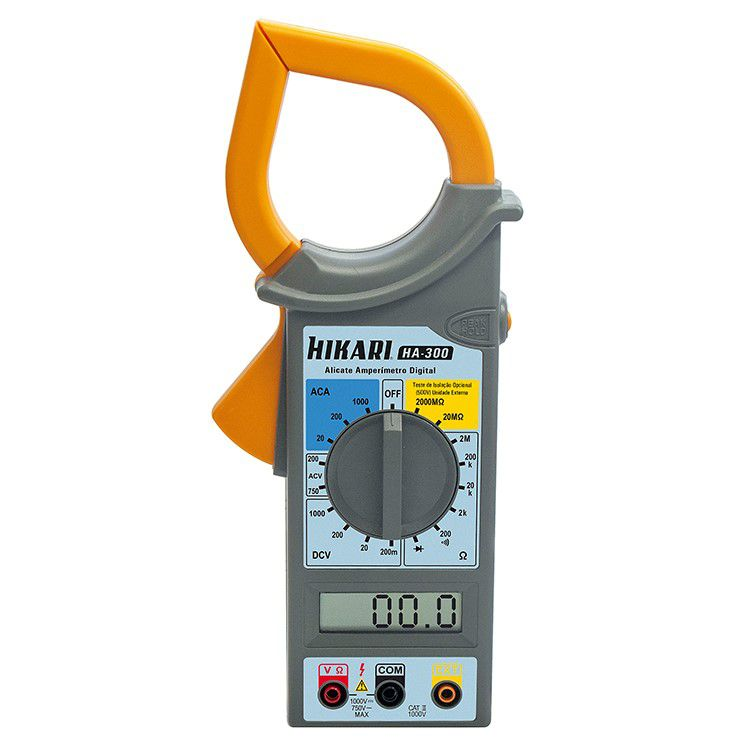 Alicate Amperímetro Digital - HA-300