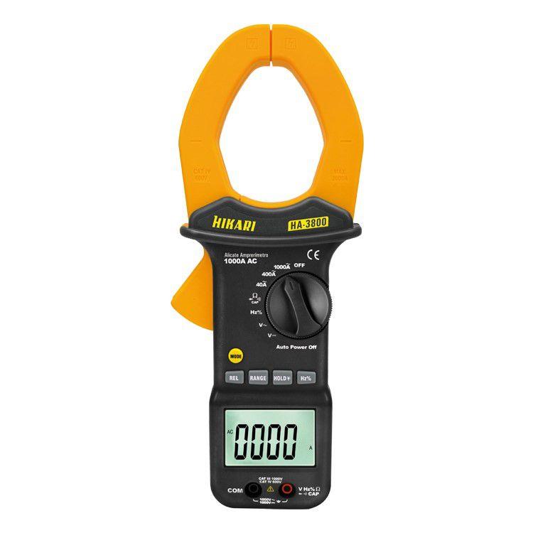 Alicate Amperímetro Digital - HA-3800
