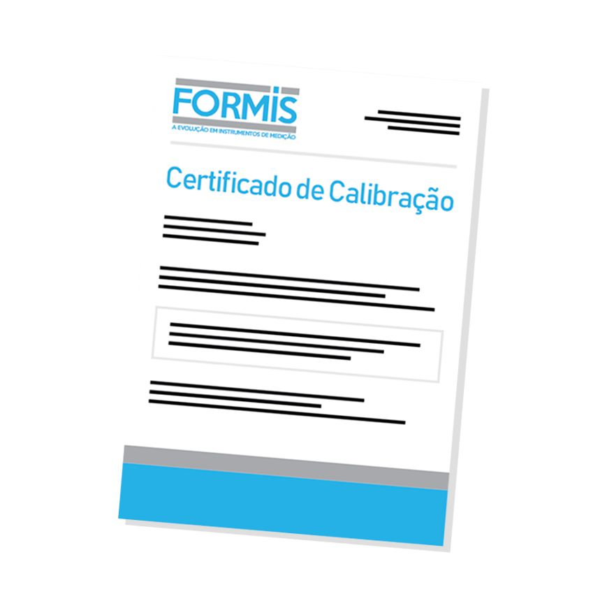 Certificado de Calibração para Gerador de Função