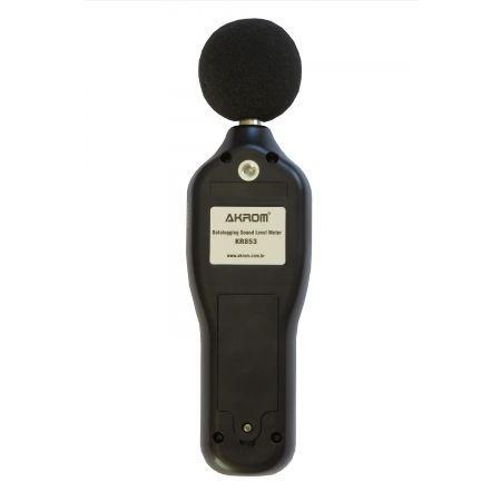Decibelímetro Digital dBA/dBC com Datalogger e Interface USB - KR853