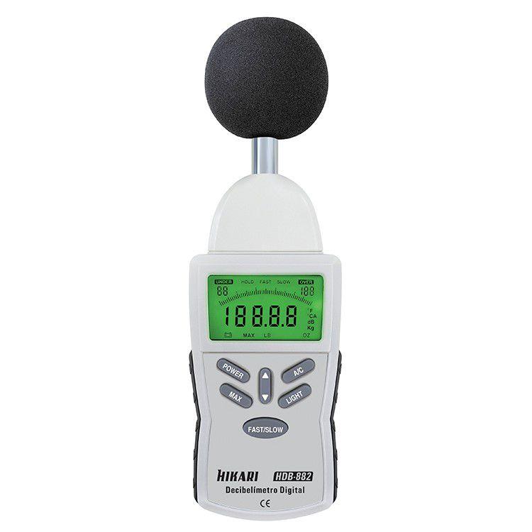 Decibelímetro Digital Portátil - HDB-882