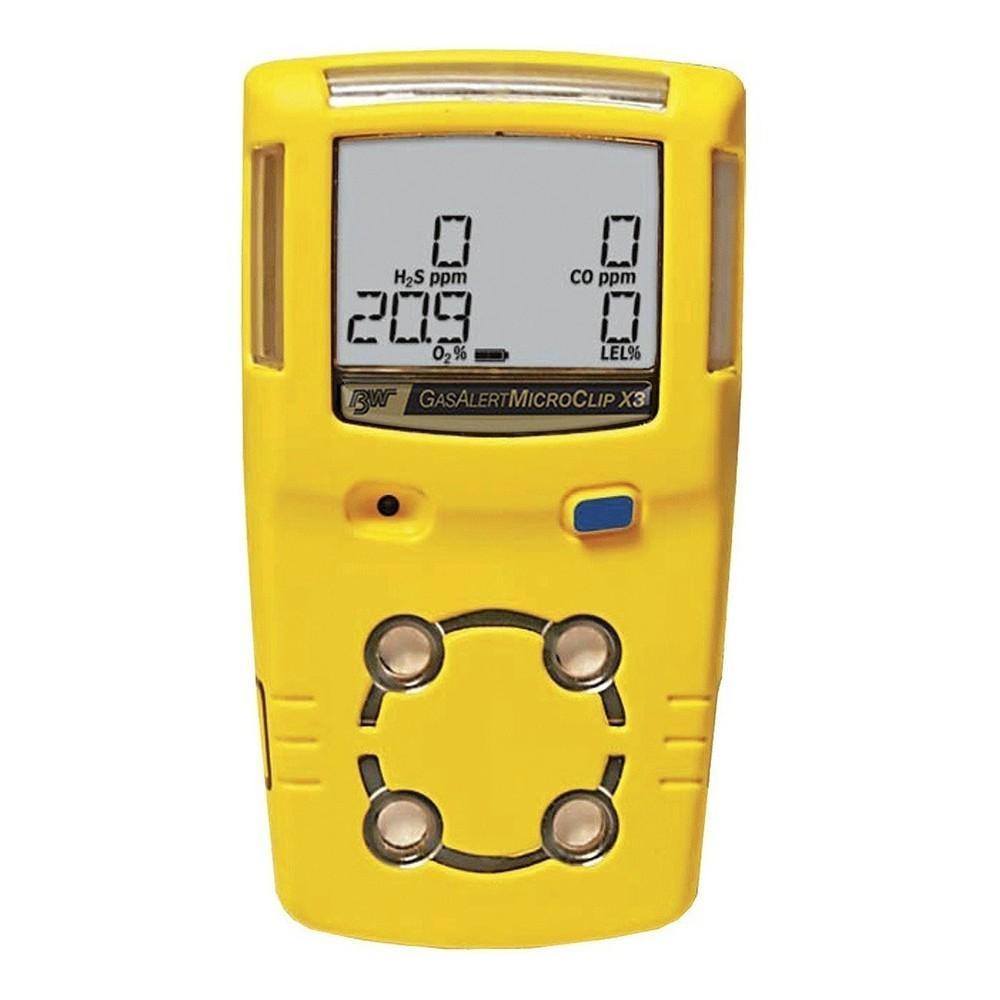Detector de 4 gases - GasAlert MicroClip X3