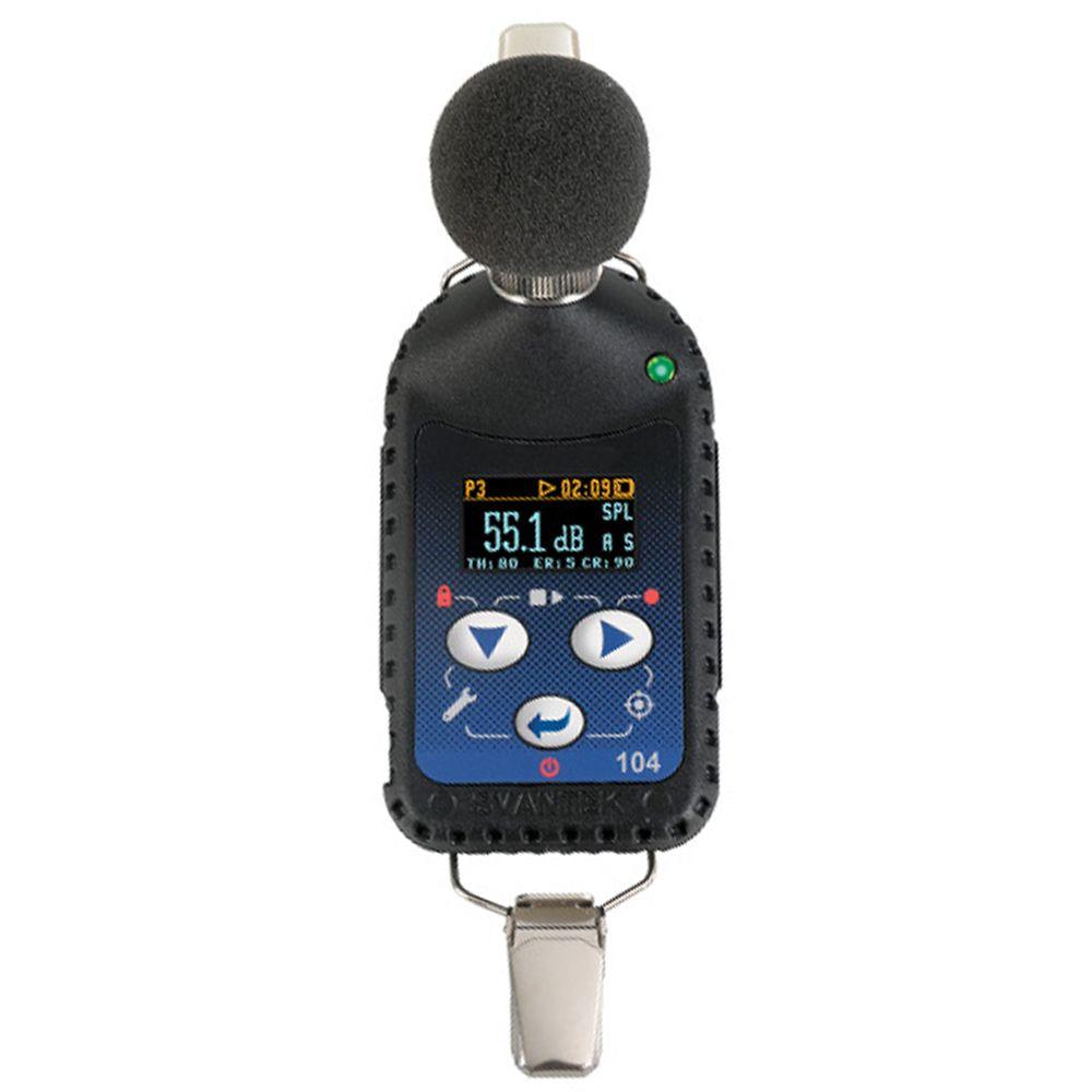 Dosímetros de Ruído Digital - SV104 + Certificação Acreditada ao INMETRO/RBC
