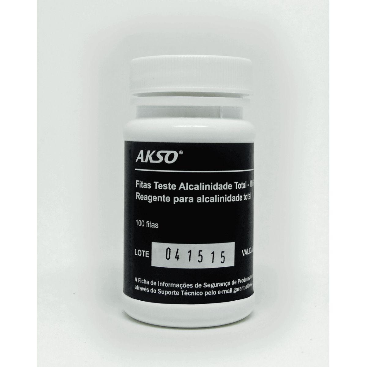 Fitas Teste para Alcalinidade Total (100 testes)