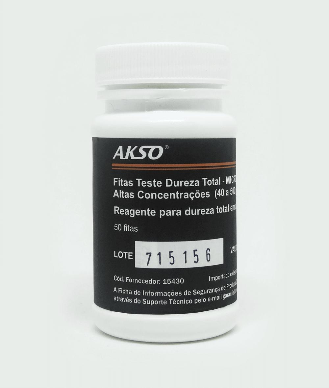 Fitas Teste para Dureza Total (50 testes)