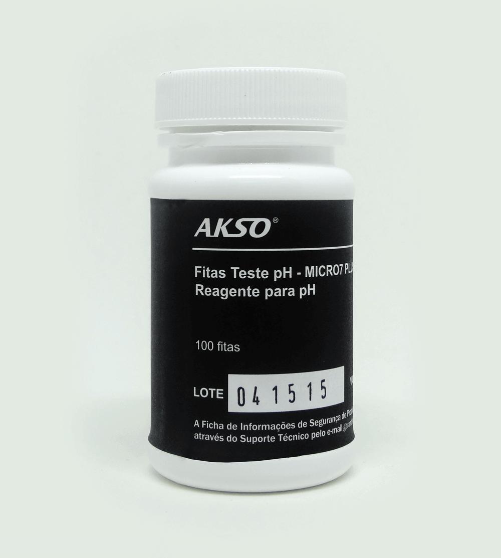 Fitas Teste para pH (100 testes)