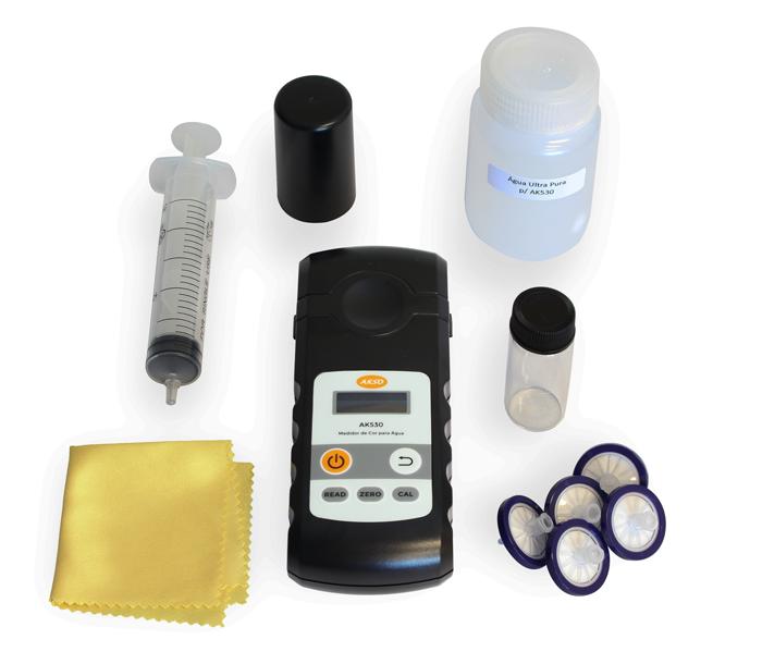 Fotômetro Medidor de Cor para Água - AK530