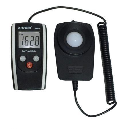 Luxímetro Digital com Sensor externo - KR802
