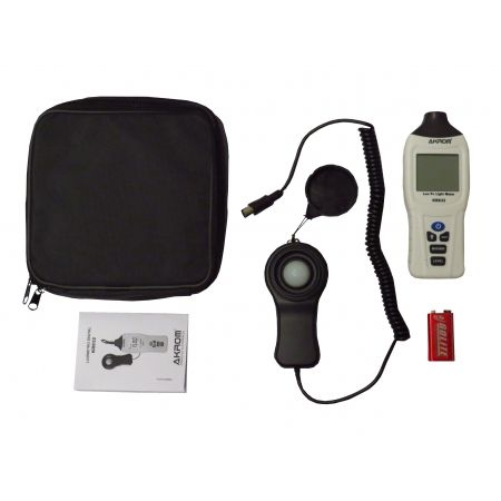 Luxímetro Digital com sensor externo - KR832